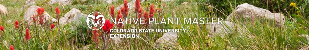 Colorado Native Plant Master